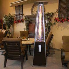 Fancy - Pyramid Patio Heater by Golden Flame Teak Furniture, Garden Furniture, Outdoor Furniture, Dream Home Design, House Design, Patio Heater, Park City, Outdoor Spaces, Bronze
