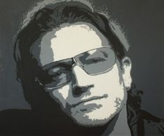 'Bono' by Kevin Miller