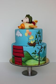 Bubolinkata: For the children of my Honeymoon She makes the most incredible looking cakes!