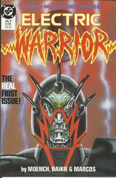 DC Electric Warrior comic issue 9