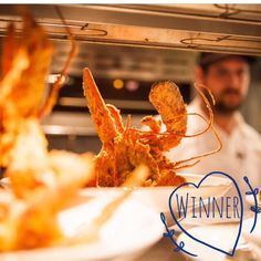 WHOLE FRIED LOBSTER at Oak Steakhouse in Charleston, SC.  Photo of the week 7/14/14 by Remy Thurston.