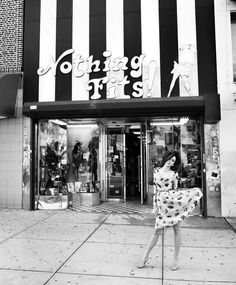 Miranda shot by Terry Richardson in Brooklyn.