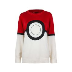 Pokemon I Am Pokeball Knit Pullover Sweater