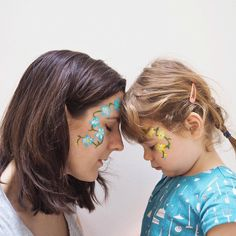 """Wednesdays - our agenda-free day to hang out and do what we please. Last week it was facepaint in our favourite colours. Today? Who knows maybe we'll go on a spring """"bloss"""" (blossom) hunt.  #toddler #childhoodunplugged #makelightfamily #writeyouonmyheart #myfamilyadventures #40daystospringjoy #capturingcolour #abmlifeiscolorful #colorcolourlovers #minimalistparenting #thisisminimalism #kindredmoments #chooselovely #asecondofwhimsy #distractionsandinspirations"""