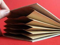Muji style accordion file folder