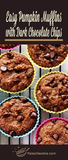 How to turn our popular pumpkin bread recipe into these gluten-free and paleo-friendly muffins. You gotta try this it's so simple...and seriously good!