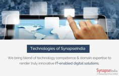SynapseIndia Technologies to deliver user-centric web & mobile solutions. Get  more info at http://synapseindia-technologies.weebly.com/blog/synapseindia-technologies-to-deliver-user-centric-web-mobile-solutions