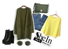 """SheIn, Shine out"" by itsels on Polyvore featuring moda, Style & Co., Prada e Mykita"