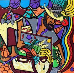 TESOURO OCULTO – 100x100cm    www.brazilianprofile.com    www.facebook.com/pages/Brazilian-Profile/143203359085626