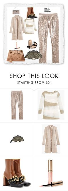 """""""sequins from day to night"""" by peeweevaaz ❤ liked on Polyvore featuring Kate Spade, Prada, By Terry, Armani Privé, Garden Trading, outfit, officewear, polyvoreeditorial, partystyle and polyvorefashion"""