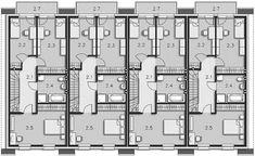 Projekt domu Edmonton DCS15 131,47 m2 - koszt budowy 216 tys. zł - EXTRADOM House Plans, Floor Plans, Houses, How To Plan, Arquitetura, Duplex House, Home Architecture, Blueprints For Homes, Home Plans