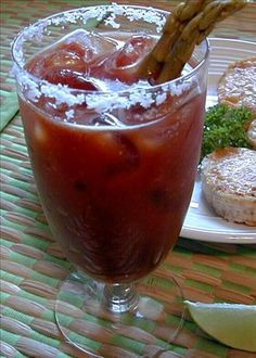 Bloody Mary one of my favorite drinks. I substitute V8 and small amount of clamato juice for tomato juice.