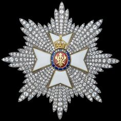 Star (Grand Cross) of the Royal Victorian Order.
