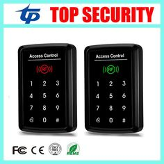 ==> [Free Shipping] Buy Best Free shipping 125KHZ smart card access control system touch keypad password door control card reader with 10pcs RFID card key Online with LOWEST Price | 32705377566