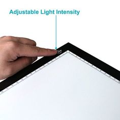 Huion® Caja de luz para calcar, tamaño A4, LED, Iluminación ajustable, ideal para animacion, tatoo, dibuja L4S (36 cm x27cm)