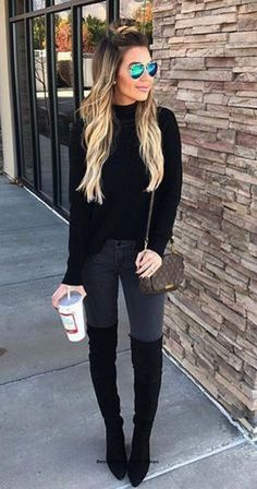 31 The most beautiful winter outfits you need to own in 2019 to most # Outfits 2019 Outfits casual Outfits for moms Outfits for school Outfits for teen girls Outfits for work Outfits with hats Outfits women Winter Outfits 2019, Classy Winter Outfits, Winter Fashion Outfits, Look Fashion, Autumn Winter Fashion, Womens Fashion, Fashion Trends, Fashion Ideas, Fashion Edgy