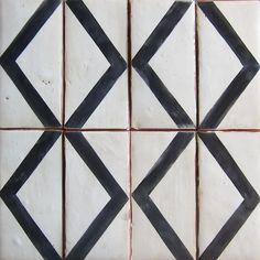 Handmade tiles can be colour coordinated and customized re. shape, texture, pattern, etc. by ceramic design studios - tabarka studio - tiles Graphisches Design, Tile Design, Ceramic Design, Design Ideas, Tile Patterns, Textures Patterns, Stencil Patterns, Brick Flooring, Terracota