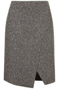 Bonded Neppy Wrap Skirt