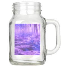 Clearing in the Forest Mason Jar