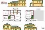 To Be Build at Ngwaabe (Limpopo) Building Plans, House Plans, Villa, Floor Plans, How To Plan, Architecture, Modern, Flats, Arquitetura