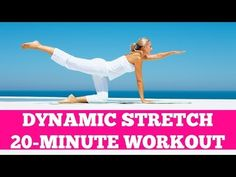 Dynamic Stretch: Light Cardio Warm Up or Cool Down Active Stretching Routine. I used this on a headache groggy day and it did make me feel much improved. OFF DAY WORKOUT 20 Min Workout, Best Workout Plan, Ultimate Workout, Youtube Workout Videos, Home Workout Videos, At Home Workouts, Morning Workouts, Cool Down Stretches, Stretch Routine