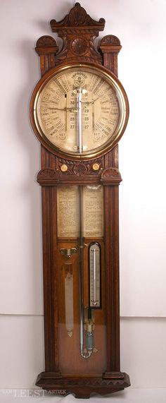 Barometer: an instrument for measuring atmospheric pressure.