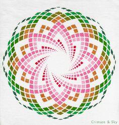Sacred Geometry / Torus / Lotus of Heart by Sarjana Sky, via Flickr