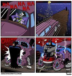 Dragonarte,Смешные комиксы,веб-комиксы с юмором и их переводы,Batman,Бэтмен, Темный рыцарь, Брюс Уэйн,DC Comics,DC Universe, Вселенная ДиСи,фэндомы,Joker,Джокер, Клоун-принц преступного мира