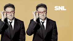 The extremely uneven season of SNL is in the homestretch. Seth Rogen returns to the stage to help drag us to the finish line (just a few more eps to go). It's been five years since Rogen hosted, and we're expecting plenty of pop culture… Zooey Deschanel, Saturday Night Live, Last Night, Ed Sheeran, Pop Culture, Portrait Photography, Tv Shows, Photoshoot, Good Things