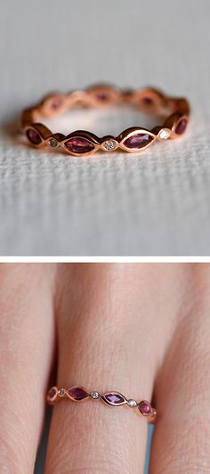 Ruby eternity ring, would love this!