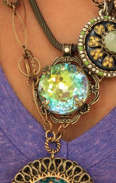 The Moonlight Pendant from junk gypsies ...
