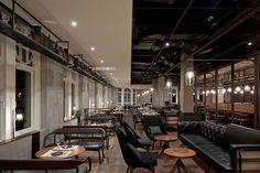 Un restaurante 3 estrellas Michelin con interiorismo industrial