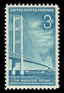 3c Mackinac Bridge single
