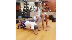 #Healthies: Celebrity Fitness on Instagram   Laura Govan @lauramgovan