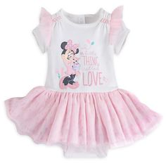 Minnie Mouse Bodysuit Tutu for Baby