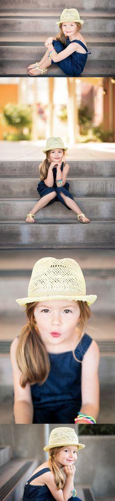 Urban photo shoot for 5 year old milestone   Moss & Mint Photography   Rocklin, CA