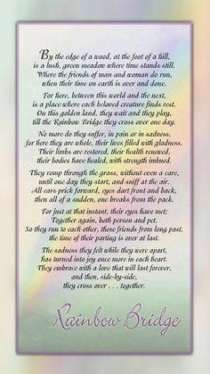 Poem | Rainbow Bridge