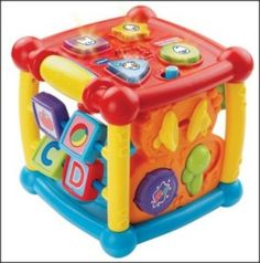 VTech makes a similar all-in-one toy with the Busy Learners Activity Cube. This time, you'll only pay $17.99. Baby will become a junior explorer figuring out all that this cube does on her own. (Hint: if she needs some help, show her...continue reading by clicking here--> http://bestandsmartchoice.com/2015/11/christmas-gifts-0-2-years-old-girls-under-25/