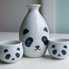 Fancy - Panda Sake Set by Kotobuki Trading