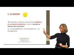 Alemán para hispanohablantes: Declinación del adjetivo – Introducción