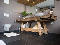 L'ardoise Mustang à prix exceptionnel donne un style moderne à votre salle de bain et se combine parfaitement avec du bois! - stonenaturelle