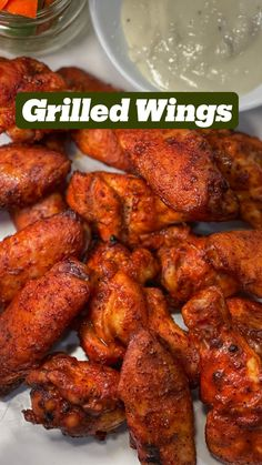 Grilling Recipes, Beef Recipes, Cooking Recipes, Healthy Recipes, Grilled Wings, Chicken Wing Recipes, Food Goals, Appetizer Recipes, Appetizers