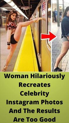Woman #Hilariously Recreates #Celebrity #Instagram Photos And The #Results Are Too Good