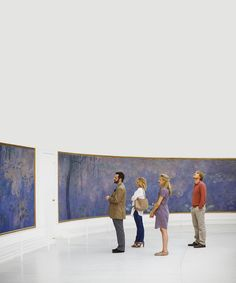 favorite space, favorite movie les Nymphéas, Claude Monet musee de l'Orangerie Paris
