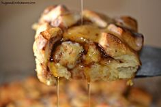 Cinnamon Roll Casserole - Hugs and Cookies XOXO