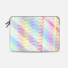 "Triangle Party 15 Macbook Pro 13"" sleeve by Miranda Mol 