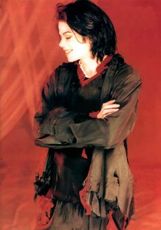 Michael Jackson photo shoot for 'Earth Song.'
