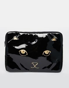 ASOS Laptop Case with Cat Face