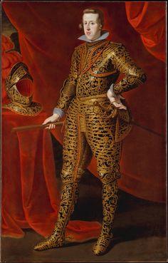 FELIPE IV de Austria (1605 - 1665), Rey de las Españas, de Portugal y de las Indias en 1621-1665 / By Gaspar De Crayer, ca.1620-21.