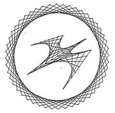 Nerinai.eu - nėriniai, mezginiai, nėrinių brėžiniai, pamokos bei patarimai - simegrafijos technikos pavyzdžiai String Art Tutorials, String Art Patterns, Pictures On String, Sewing Cards, Drawing Prompt, Geometry Art, Op Art, Abstract Wall Art, Fall Crafts